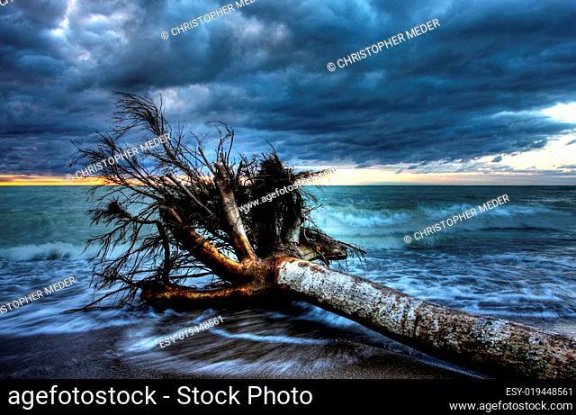 Lake Huron at Dusk