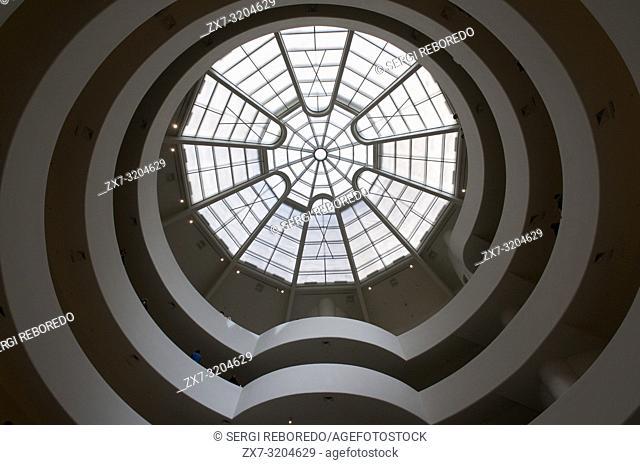 The Solomon R. Guggenheim Museum, New York, USA
