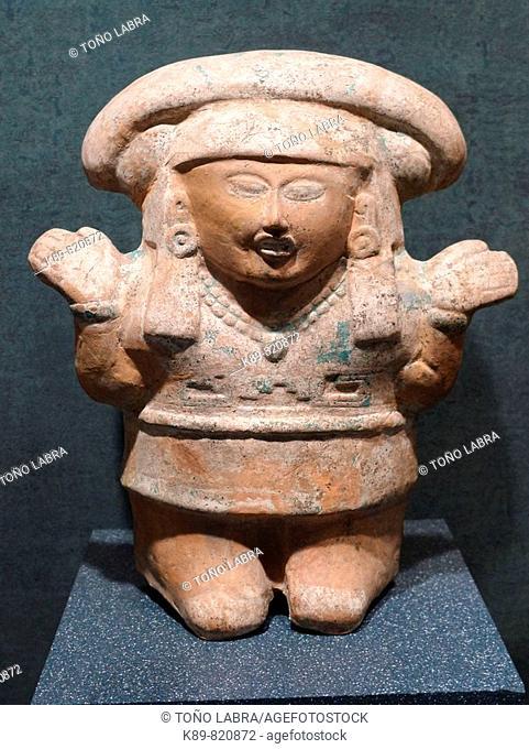 Totonac woman. Museo Nacional de Antropologia. Ciudad de Mexico