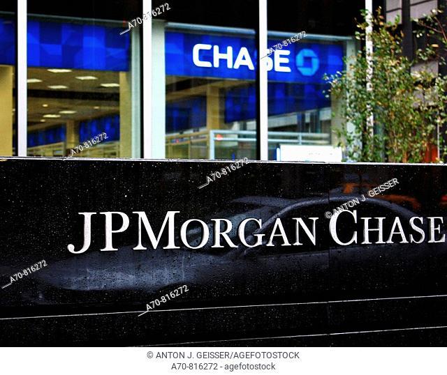 JPMorgan Chase Bank. New York. . USA