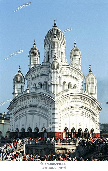 Dakshineswar Kali temple. Calcutta. India