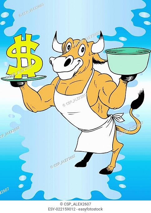 Cow and money