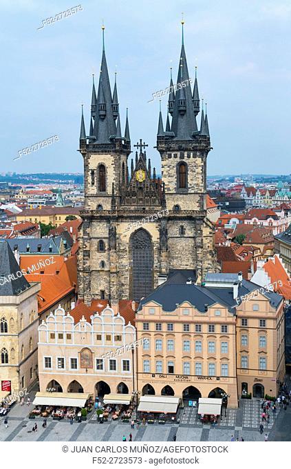 Old Town Square, Prague, Czech Republic, Europe