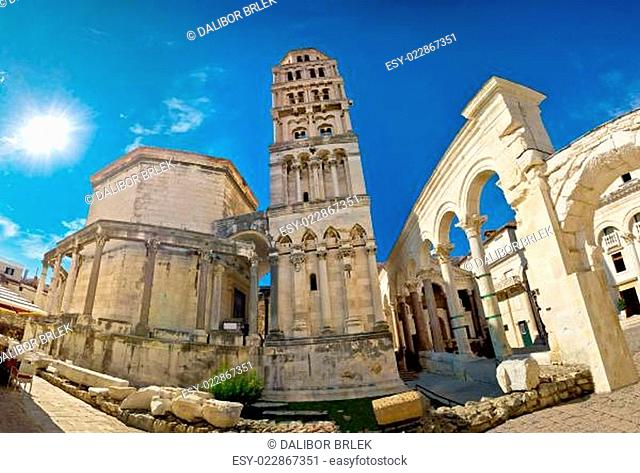 UNESCO world heritage site in Split