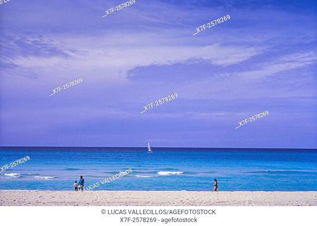 Beach, Varadero,Cuba