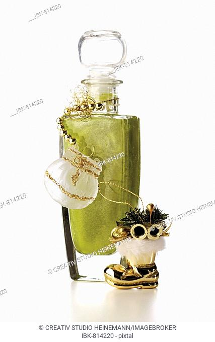 Cosmetic bottle, Christmas decoration