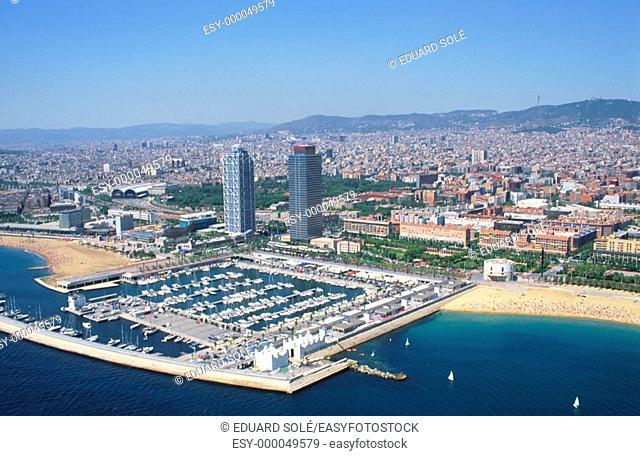 Olympic Village. Barcelona. Spain