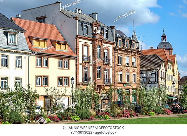 Impressions from historic Wissembourg (Weissenburg) in the Alsace region of France