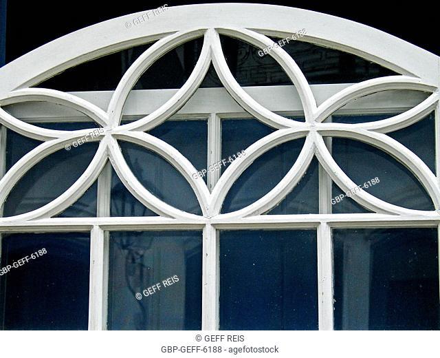 Window, house, Historical Center, Paraty, Rio de Janeiro, Brazil