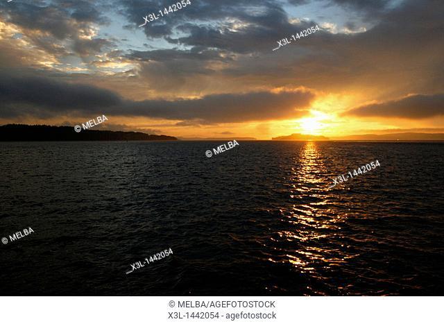 Sointula island  Johnstone strait  Vancouver island  British Columbia  Canada