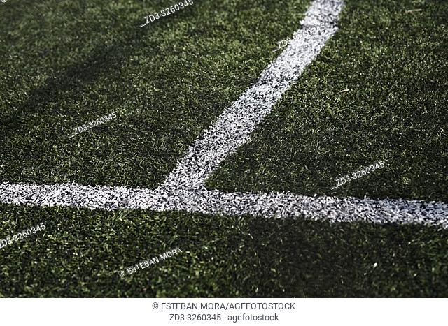 Football pitch lines