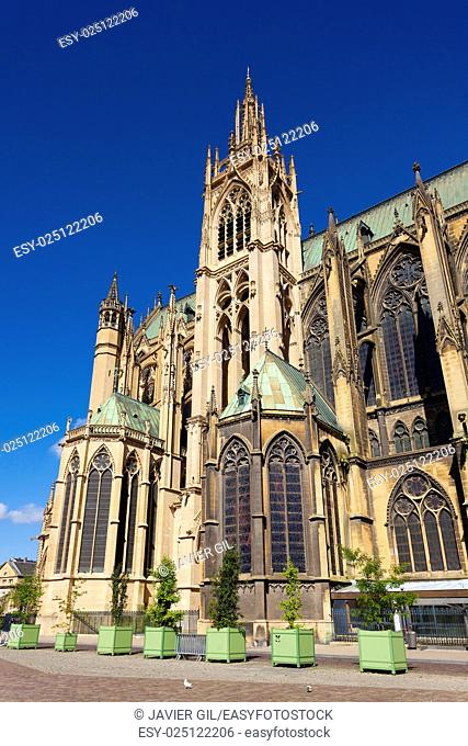 St-Etienne cathedral, Metz, Moselle, Lorraine region, France