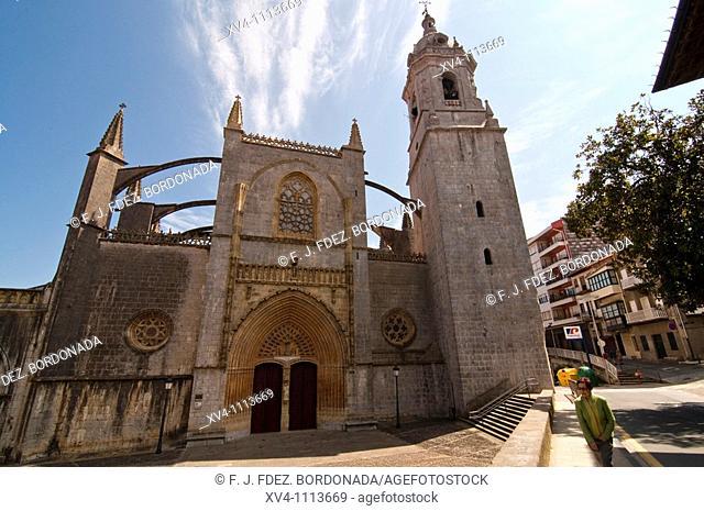 Nuestra Sra de la Asunción Church  Lekeitio, Vizcaya  Basque country, Spain