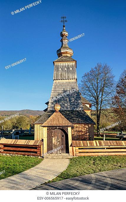 Wooden Church of St. Archangel Michael - Ladomírová