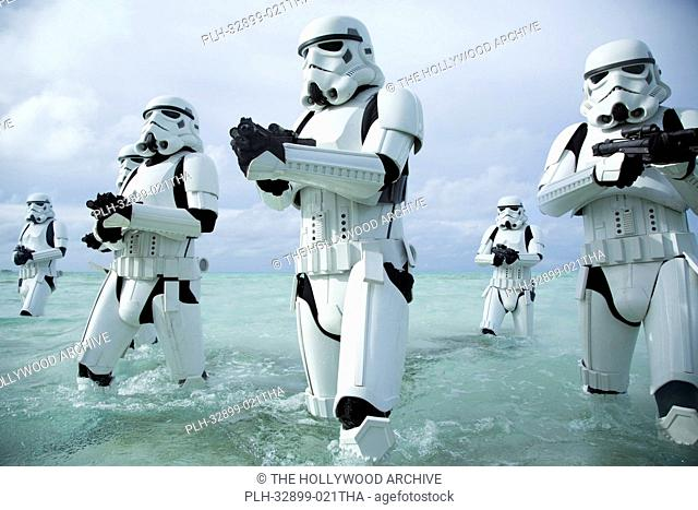 Rogue One: A Star Wars Story. Stormtroopers