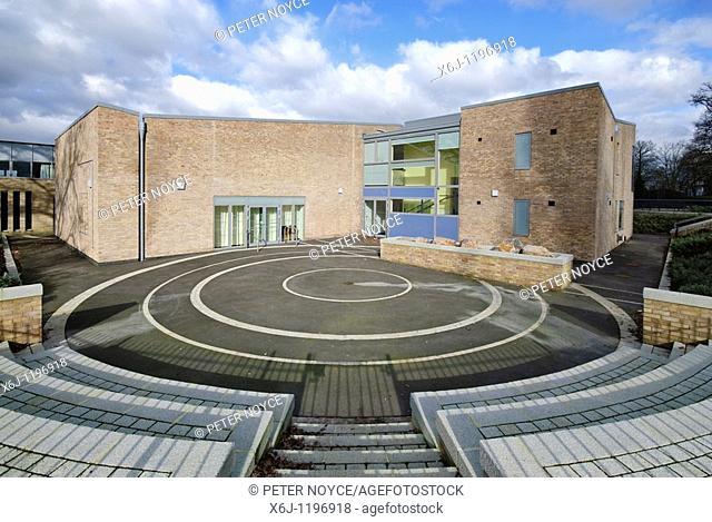 Marnel Junior School playground amphitheatre