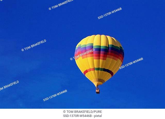 Hot air balloon in the sky, Albuquerque, New Mexico, USA