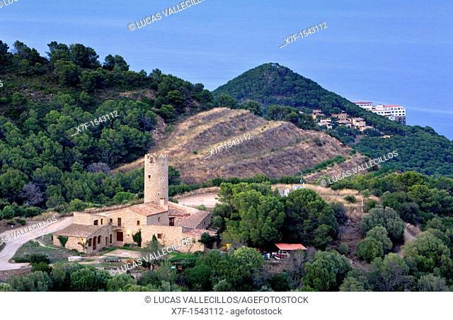 Begur  Carmen Amaya house Costa Brava  Girona province  Catalonia  Spain