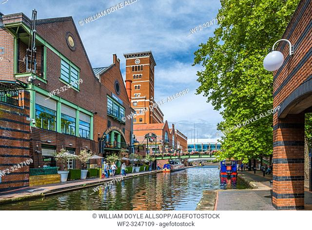 Brindley Place in central Birmingham