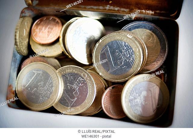 Euros, euro, monedas, money