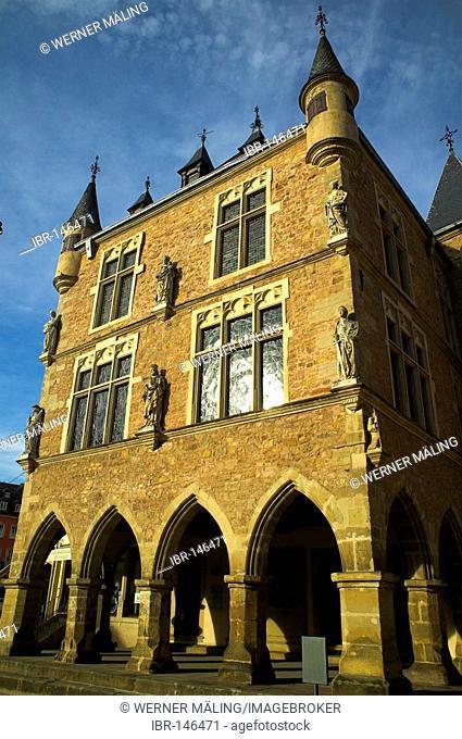 Denzelt, historical assembly hall at the market, Echternach, Luxembourg