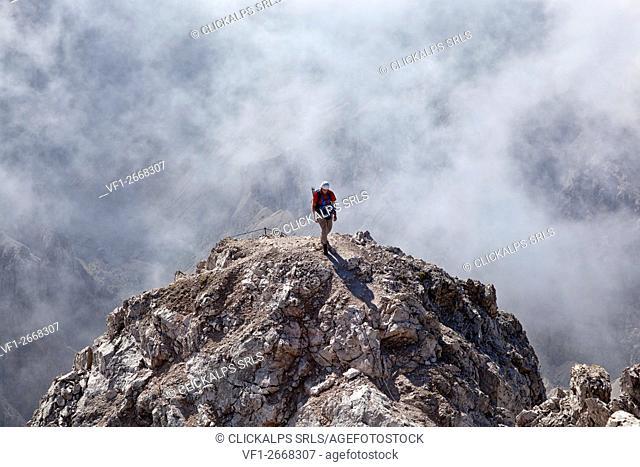 Sass Rigais, Odle group, Dolomites, South Tyrol, Bolzano, Italy