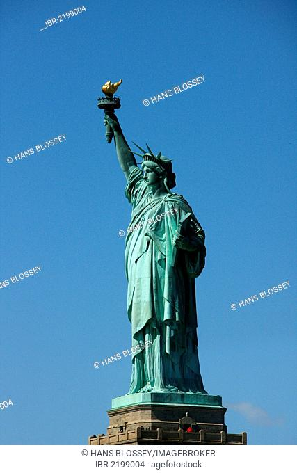 Tour to the Statue of Liberty, Liberty Island, New York City, New York, United States, North America