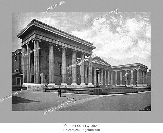 The British Museum, London, c1900. Artist: York & Son