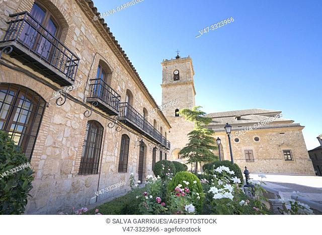 Church of San Antonio Abad, El Toboso, Toledo, Castilla la Mancha, Spain