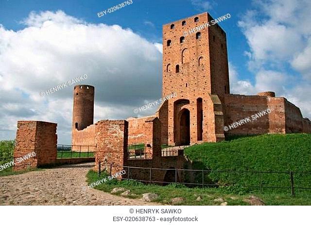 ruiny zamku ksiazat mazowieckich