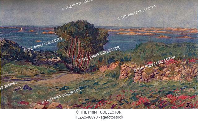 'Paysage De Bretegne', c1900, (1905). Artist: Jean Francis Auburtin