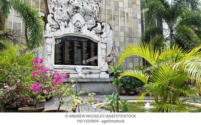 Bali bombings 2002 Kuta memorial Indonesia