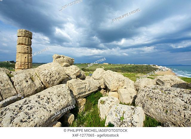 Italy, Sicily, Trapani district, Selinunte, Temple