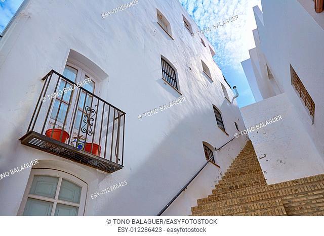Mojacar Almeria white Mediterranean village in Spain
