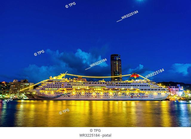 Taiwan;Keelung City;Keelung Port;Keelung Port West Coast Pier;Port;Commercial Port