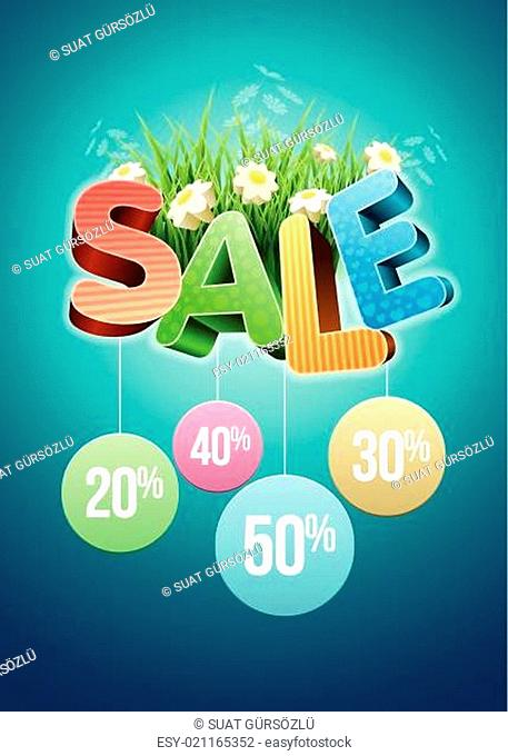 Sale flowers