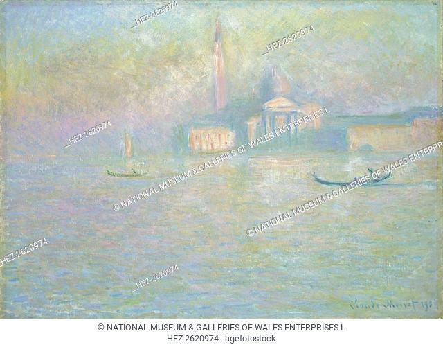 'San Giorgio Maggiore', 1908. Artist: Claude Monet