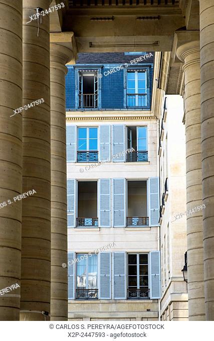 Architecture detail in Paris, France