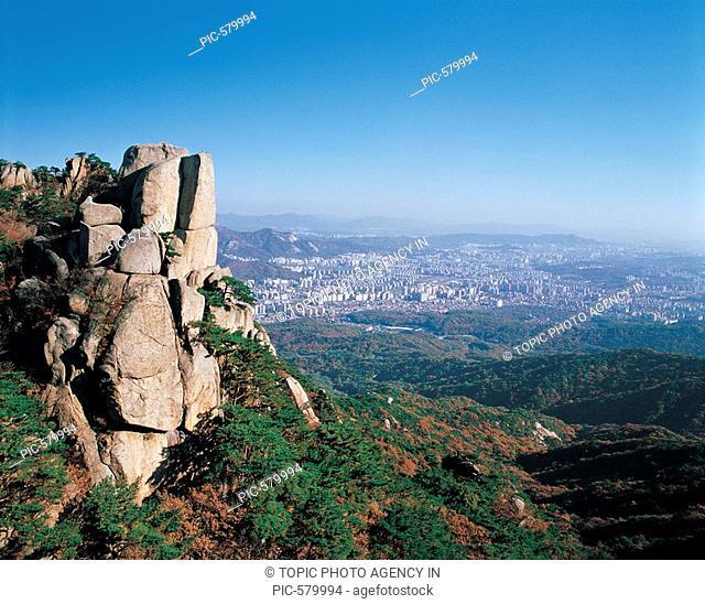 Mt. Dobongsan,Seoul,Korea
