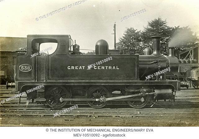 Locomotive no 538 0-6-0 tank engine