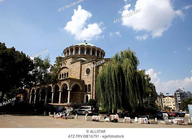 ST. NEDELYA EASTERN ORTHODOX CHURCH; SOFIA, BULGARIA; 31/08/2011