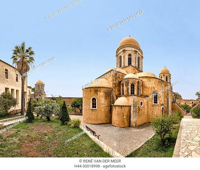 Moni Agia Triada Monastery, Koumares, Akrotiri, Greece