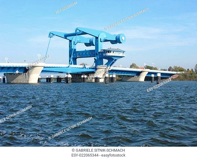 Peenebrücke in Wolgast