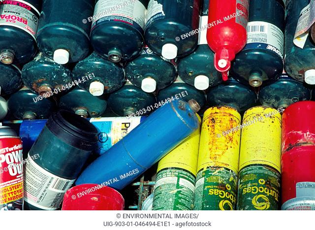 Gas cylinders to be recycled, Canada