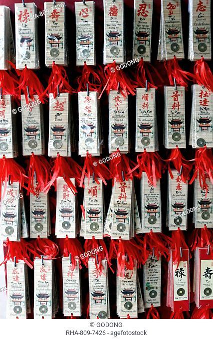 Buddhist good luck charms, Hanoi, Vietnam, Indochina, Southeast Asia, Asia