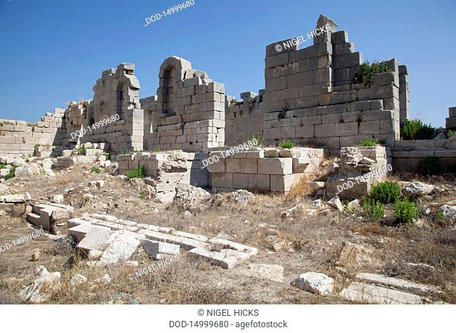 Turkey, near Kas, Patara's ancient ruins