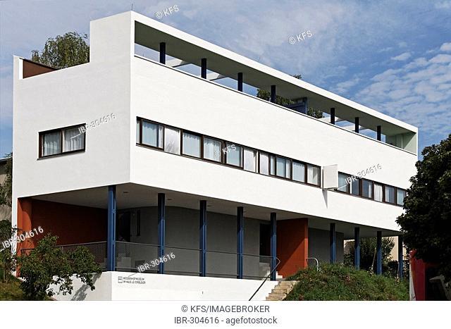 Museum Weissenhof at the Corbusier house, designed 1927, Stuttgart, Baden-Wuerttemberg, Germany