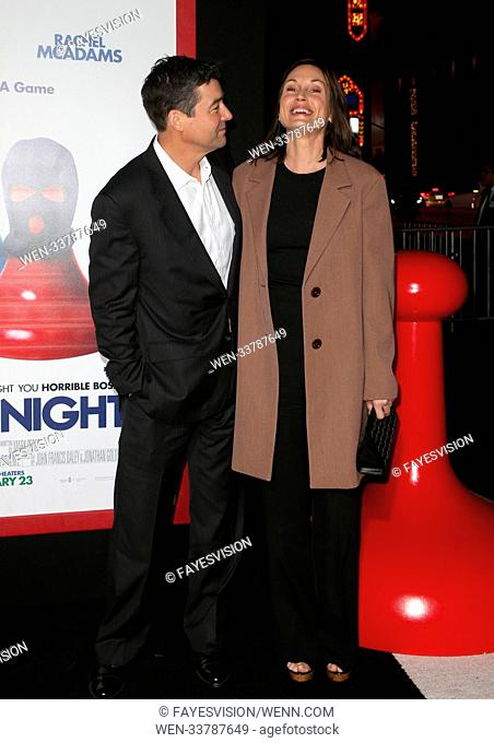 Premiere of New Line Cinema and Warner Bros. Pictures' 'Game Night' Featuring: Kyle Chandler, Kathryn Chandler Where: Hollywood, California