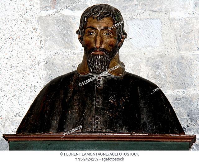 Board in honor of Barthelemy Donadieu de Griet 1592-1637