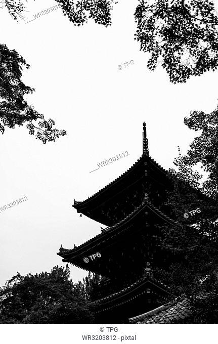 Five-story pagoda of To-ji; Kyoto; Japan
